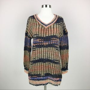 Taylor & Sage Colorful Pullover Sweater Size Small